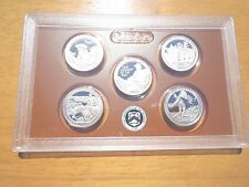 2016 S Clad Proof America The Beautiful Quarter Set  No Box or Coa