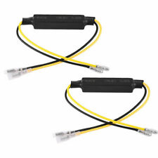 2 Motorcycle Bike Turn Signal Indicator LED Load Resistor Decoder Fix Error 21W
