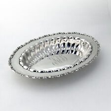 Louis XV Celery Dish Whiting Sterling Silver Mono