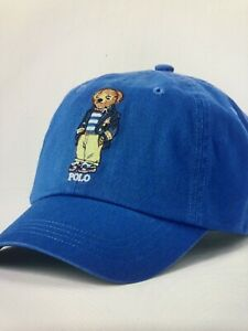 New NWT Polo Ralph Lauren Polo Bear Chino Ball Cap Hat