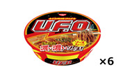 Nissin UFO Yakisoba  Instant Fried Noodles 128g x 6pcs Japan
