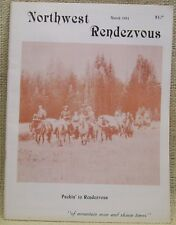 Northwest Rendezvous Mountain Man Magazine Back Issue March 1984 Edition