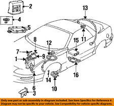 Pontiac GM OEM Firebird ABS Anti-Lock Brakes-Wire Wiring Connector 15306007