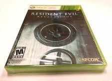 Resident Evil Revelations XBOX 360 New Sealed USA