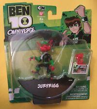 "JURYRIGG 3"" action figure Ben 10 Omniverse Omnitrix Challenge ALIEN FORCE BANDAI"