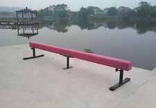 gymnastics balance beam continuous & sectionals. 4', 8', or 12'