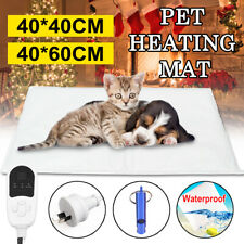25/30W Electric Pet Heat Mat Heated Pad Dog Cat Heating Blanket Bed Waterproof