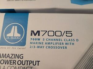 JL Audio M700/5: 5 Ch. Class D Marine System Amplifier W FREE SHIPPING NEW