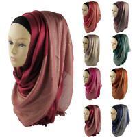 Womens Muslim Hijab Scarf Wrap Shawl Scarves Islamic Cap Head Cover Ladies Wraps