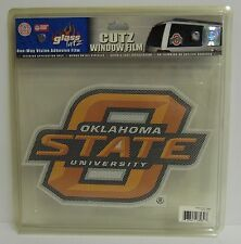 12-Inch Oklahoma State Cowboys Logo Perforated Vinyl Window Graphic