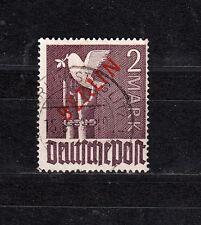 Berlin Rotaufdruck Michel Nr. 34, 2,-M gestempelt, geprüft Schlegel,siehe Scan