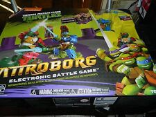 Battroborg Teenage Mutant Ninja Turtles - Leonardo vs Raphael - Tomy Nikelodeon