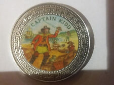 1998 Great Britain  Large Color Trade 1$-Caribbean Pirates-Captain Kidd