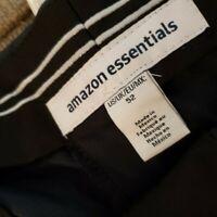 Essentials Men's Quick-Dry Golf Short fit by DXL, Black, 52