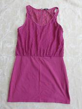 Rusty Cotton Dress Plum Colour Women's Size 14