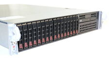 "SUPERMICRO 2.5"" 12 CORE 2U 2.93Ghz/48GB INTEL XEON X5670 SYS-2026T-6RFT+ SERVER"