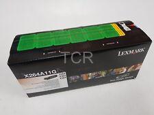 Genuine Lexmark X264A11G Black Toner Cartridge to suit X264 X363 X364