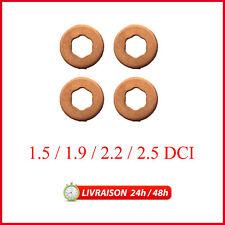 4 rondelles Injecteur Rondelles Renault 1.5/1.9/2.2/2.5 dCi Diesel 7703062072