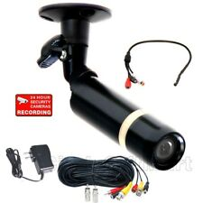 SONY Color CCD Video In/Outdoor Security Camera CCTV Wide Angle w/ Audio Mic cfb