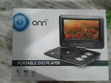 "Onn portable dvd player 10"" screen"
