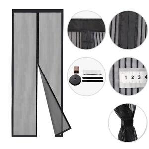 Magnet Fliegengitter Tür Insektenschutz Magnet Vorhang aus Angelschnur Gewebe