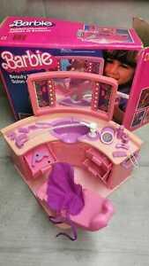 Barbie BeautySalon Schönheitssalon Friseursalon 80iger unbeschädigt Gebr.spuren