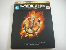 The Hunger Games: Catching Fire (2013) - Limited Steelbook Blu-Ray + DVD