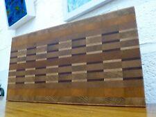 End Grain Cooking Chopping Board Butcher Block Hardwood, Handmade, Reversible #5