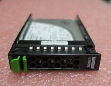 Fujitsu SSD SATA 6G 200GB 2.5'' Hot Plug S26361-F5303-L200 S26361-F5303-E200