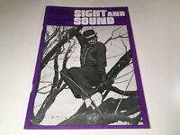 Sight And Sound Vintage Cinema Movie Magazine Summer 1973 James Whale Godard 70s
