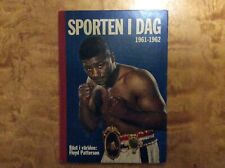 Floyd Patterson in & on Swedish book 1961 Boxing