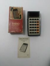 Vintage Texas Instruments Ti-1025 Electronic Calculator With Memory