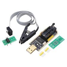 CH341A 24 25 Series EEPROM Flash BIOS USB Programmer + SOIC8 Clip On Board Kit