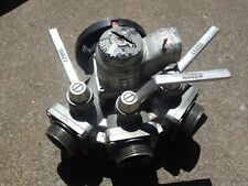 """Angus 3-Way Distribution Valve 31525RLK 5"""" Storz by (3) 21 ⁄2"""" NST Male Gated B"""