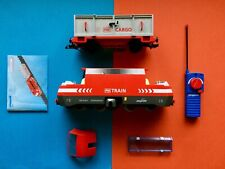 Playmobil 4010 ferrocarriles DB e Lok Ice Set RC tren raíles suave cargo OVP Box