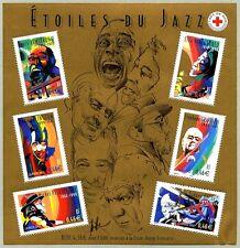 Bloc Feuillet BF50 - Etoiles du jazz - 2002