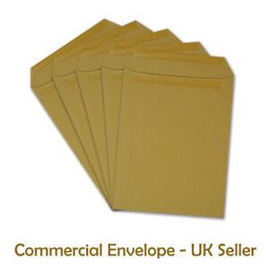 C4 DL C5 PLAIN Manilla Self Seal Envelopes 10 50 20 50 100 250 500 1000