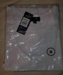 Mens Le Shark sleeveless white t-shirt/vest/tee/top - size medium (BNWT)