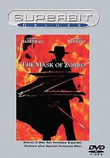 The Mask of Zorro (DVD, 2002, 2-Disc Set, Superbit Deluxe)