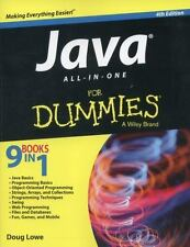Java All-in-One for Dummies® by Doug Lowe (2014, Paperback / Online Resource)