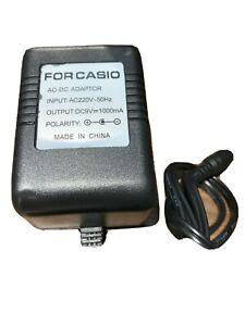 For Casio 9v adapter (Nagitive Centered)