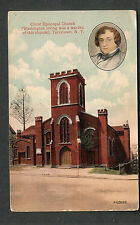 1915 Christ Episcopal Church Tarrytown Washington Irving to R Moore Woodhull NY