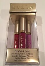 Stila Stay All Day Liquid Bright and Bold Lipstick Set (3 shade set)