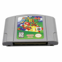 Super Mario 64 For Nintendo N64 Video Game Cartridge Console Card Version