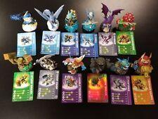 Skylanders LOT Swap Force Giant Trap Team Spyros Adventure Wii Figurines
