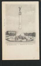 776-🇫🇷BORDEUAUX >33<-Monument des Girondins (Dos non divisé (DND)🇫🇷