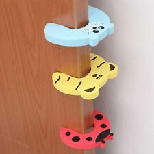 4 Cute animal foam door guard novelty Finger protector child kid Safety stopper