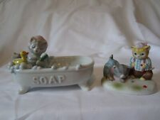 Schmid Kitty Cucumber Soap Dish and May Best Man Win Marbles