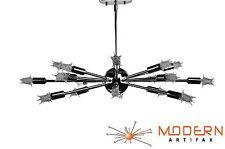 Sputnik Lamp Atomic Starburst Light Mid Century Modern Eames Chrome Chandelier