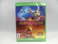 Disney Classic Games: Aladdin and the Lion King (Xbox One 2019) Case damage READ